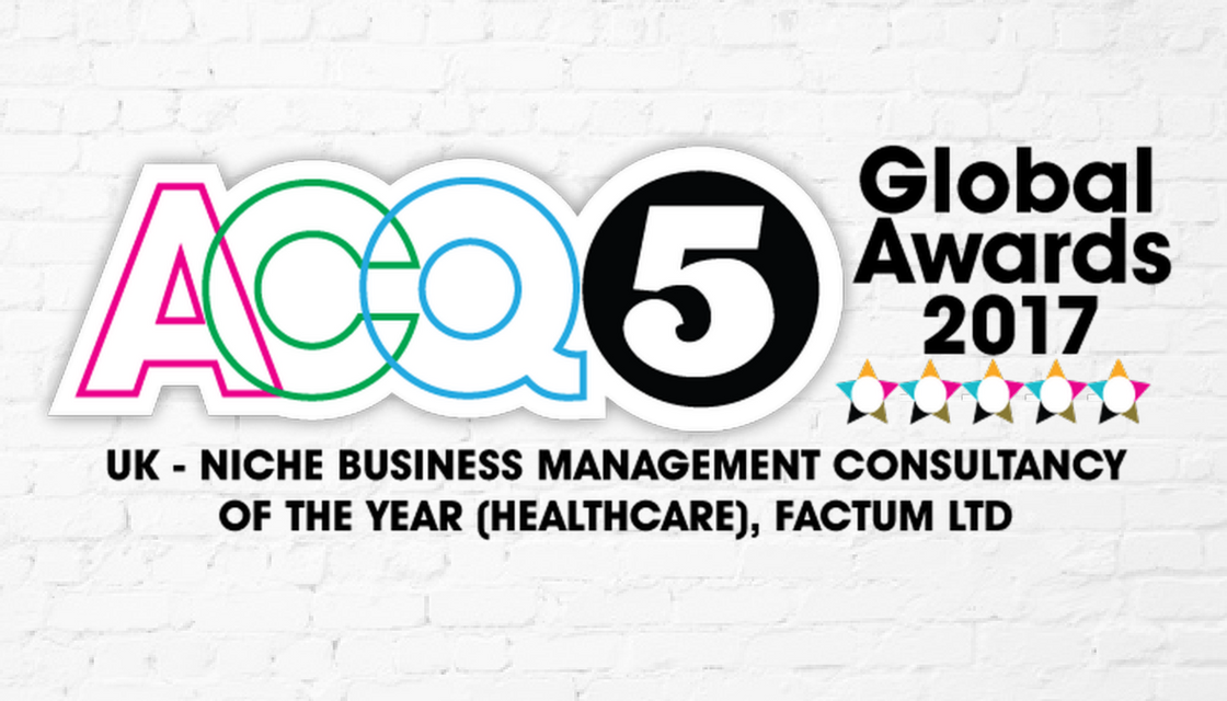 ACQ5 Names Factum Niche Business Mgmt Consultancy of Year [Editorial Feature]